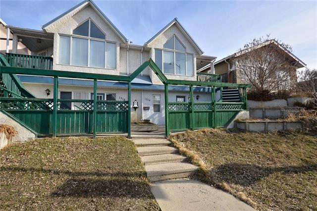 1316 20 Avenue NW, Calgary, AB T2M 1G3 (#C4179124) :: Redline Real Estate Group Inc