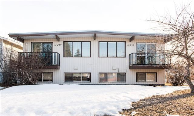 6537 & 6539 Bow Crescent NW, Calgary, AB T3B 2C6 (#C4179138) :: Redline Real Estate Group Inc