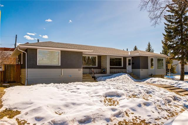 127 & 129 Westminster Drive SW, Calgary, AB T3C 2T2 (#C4179277) :: Canmore & Banff