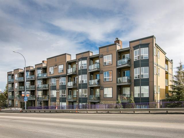 2420 34 Avenue SW #214, Calgary, AB T2T 2C8 (#C4179355) :: Redline Real Estate Group Inc