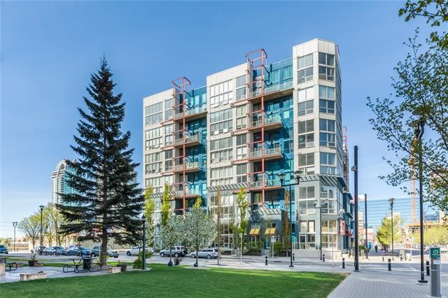 535 8 Avenue SE #602, Calgary, AB T2G 5S9 (#C4179371) :: Canmore & Banff