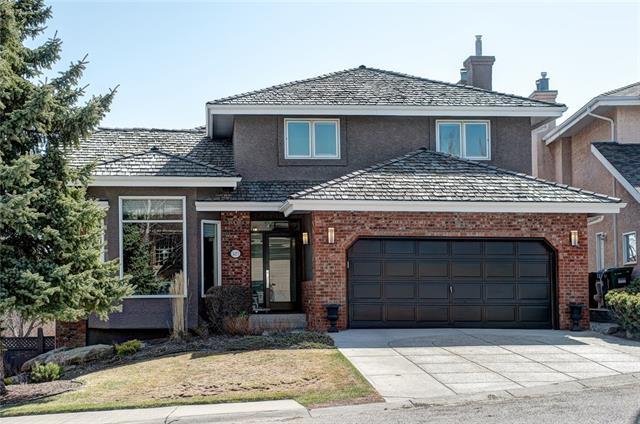 327 Christie Knoll Point(E) SW, Calgary, AB T3H 2V2 (#C4179476) :: Redline Real Estate Group Inc