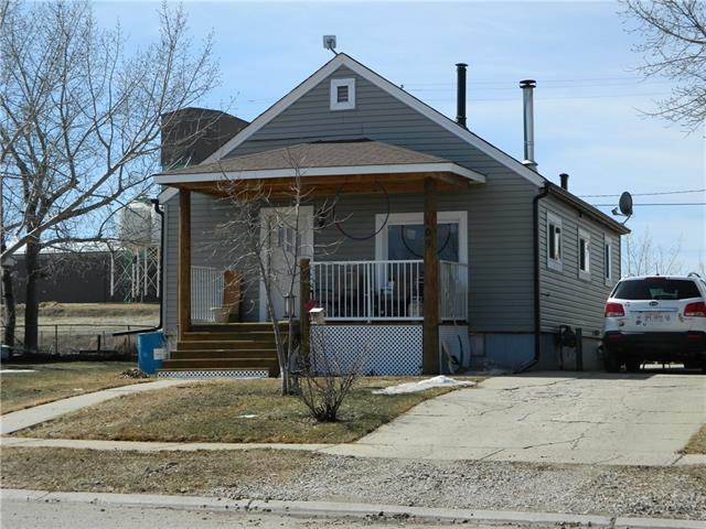 109 1 Avenue, Hussar, AB T0J 1S0 (#C4179549) :: Canmore & Banff
