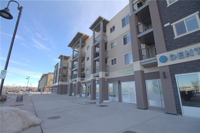 403 Mackenzie Way SW #6407, Airdrie, AB T4B 3V7 (#C4179574) :: Canmore & Banff