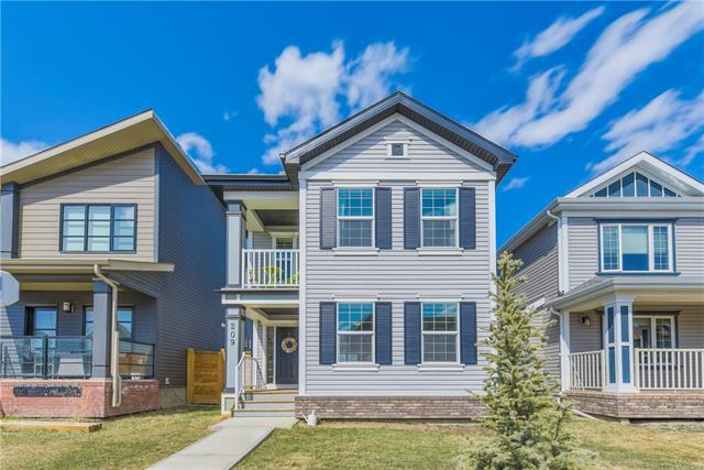 209 Copperpond Parade SE, Calgary, AB T2Z 5B2 (#C4179625) :: Tonkinson Real Estate Team