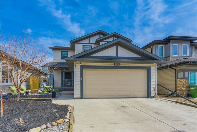 303 Prairie Springs Crescent SW, Airdrie, AB T4B 0E5 (#C4179676) :: Redline Real Estate Group Inc