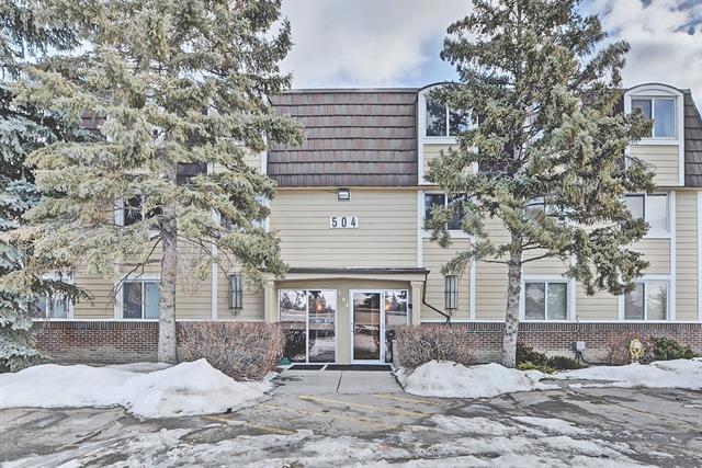 504 Cedar Crescent SW #4, Calgary, AB T3C 2Y8 (#C4179828) :: Tonkinson Real Estate Team
