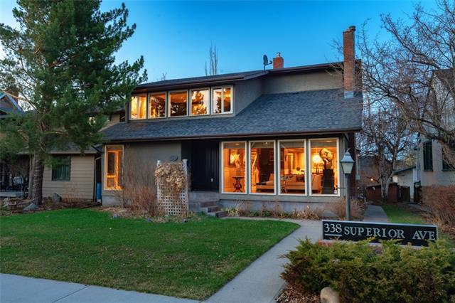 338 Superior Avenue SW, Calgary, AB T3C 2J2 (#C4181371) :: Redline Real Estate Group Inc
