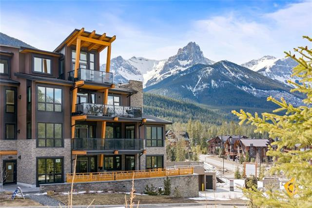 101A Stewart Creek Rise #104, Canmore, AB T1W 0K2 (#C4181480) :: The Cliff Stevenson Group