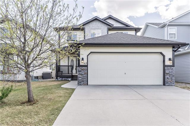 63 Silver Springs Way NW, Airdrie, AB T4B 2R6 (#C4181780) :: Redline Real Estate Group Inc