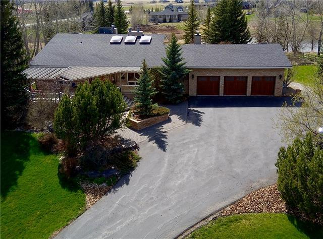 25 Cullen Creek Estates, Rural Rocky View County, AB T3Z 3K8 (#C4182331) :: Your Calgary Real Estate
