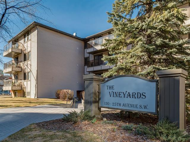 130 25 Avenue SW #404, Calgary, AB T2S 0K9 (#C4182428) :: Canmore & Banff
