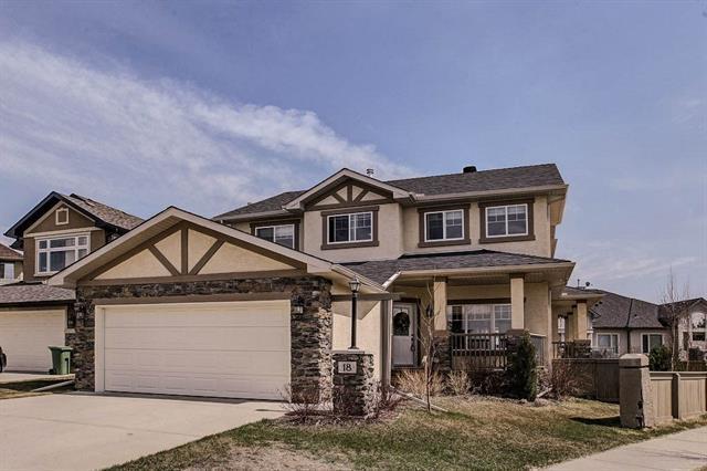 18 Cimarron Green, Okotoks, AB T1S 1P2 (#C4182465) :: Redline Real Estate Group Inc