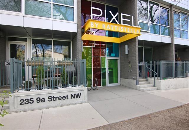235 9A Street NW #706, Calgary, AB T2N 4H7 (#C4182909) :: Redline Real Estate Group Inc