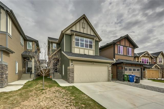 80 Sunrise Terrace, Cochrane, AB T4C 0H4 (#C4182922) :: Redline Real Estate Group Inc