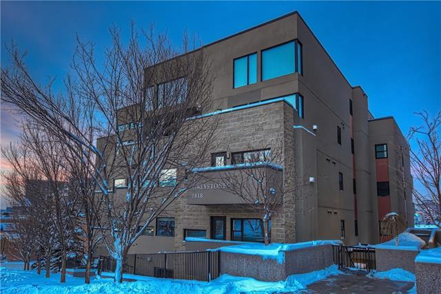 1818 14 Street SW #104, Calgary, AB T2T 3S9 (#C4182975) :: The Cliff Stevenson Group