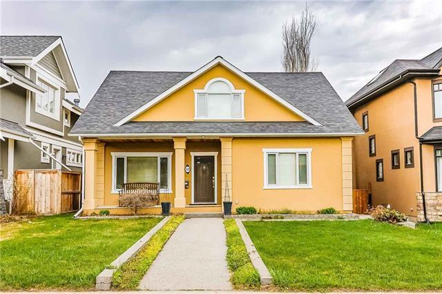 1329 7A Street NW, Calgary, AB T2M 3J7 (#C4182988) :: Redline Real Estate Group Inc