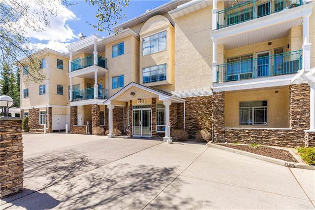 9449 19 Street SW #214, Calgary, AB T2V 5J8 (#C4183378) :: The Cliff Stevenson Group