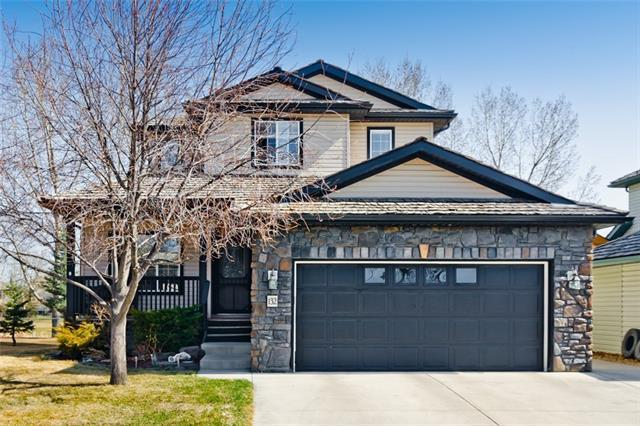 132 Woodside Crescent NW, Airdrie, AB T4B 2K4 (#C4183514) :: Redline Real Estate Group Inc