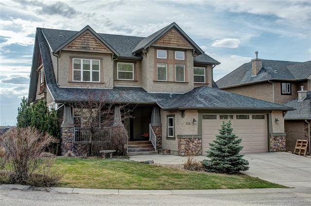 116 Crestridge Way SW, Calgary, AB T3B 5Z2 (#C4183660) :: The Cliff Stevenson Group