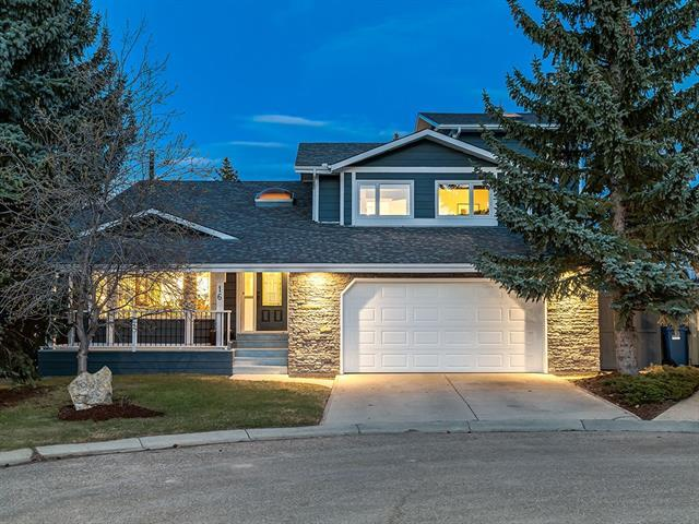16 Coach Gate Court SW, Calgary, AB T3H 1Z6 (#C4184031) :: Redline Real Estate Group Inc