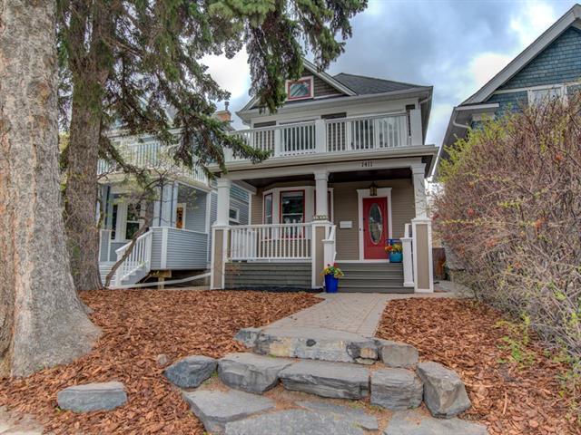 1411 4th Street NW, Calgary, AB T2M 2Y8 (#C4184071) :: Redline Real Estate Group Inc