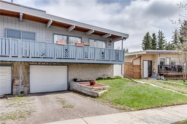 5014 North Haven Drive NW, Calgary, AB T2K 2K4 (#C4184208) :: The Cliff Stevenson Group