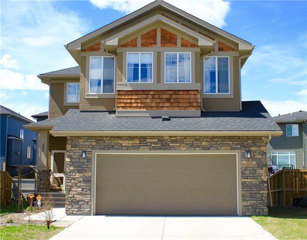 37 Cimarron Springs Green, Okotoks, AB T1S 0M3 (#C4184268) :: Redline Real Estate Group Inc