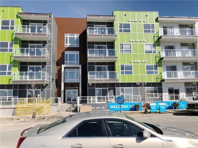 20 Seton Park SE #220, Calgary, AB T3M 2V4 (#C4184321) :: Canmore & Banff