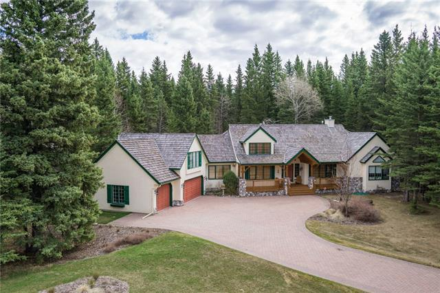 74 Mountain Lion Drive, Bragg Creek, AB T0L 0K0 (#C4184605) :: Calgary Homefinders