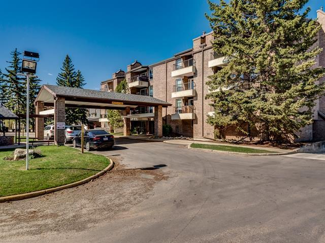 201 Braeglen Close SW #1206, Calgary, AB T2W 2B1 (#C4185072) :: The Cliff Stevenson Group