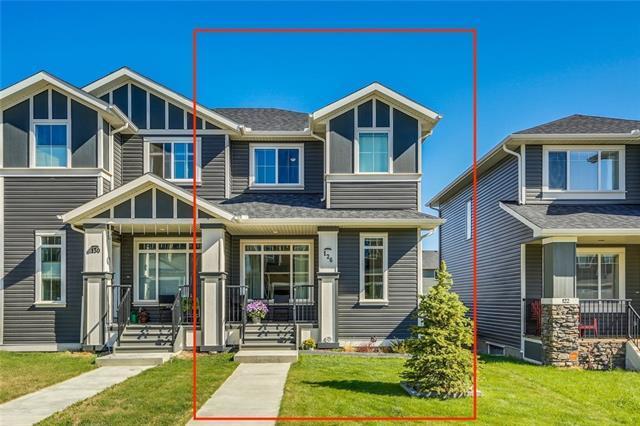 126 Fireside Cove, Cochrane, AB T4C 0X4 (#C4185257) :: Redline Real Estate Group Inc