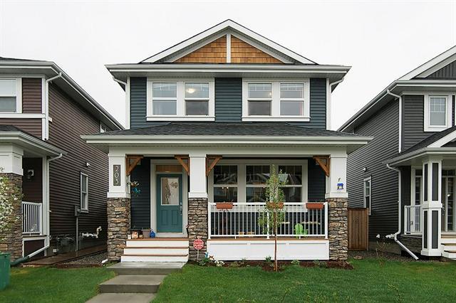 203 River Heights Crescent, Cochrane, AB T4C 0V1 (#C4185268) :: Redline Real Estate Group Inc