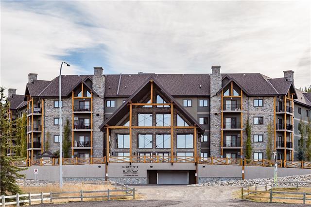 77 George Fox Trail #311, Cochrane, AB T4C 0N1 (#C4185327) :: Redline Real Estate Group Inc