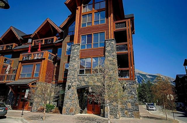 600 Spring Creek Drive #103, Canmore, AB T1W 0C8 (#C4185336) :: The Cliff Stevenson Group