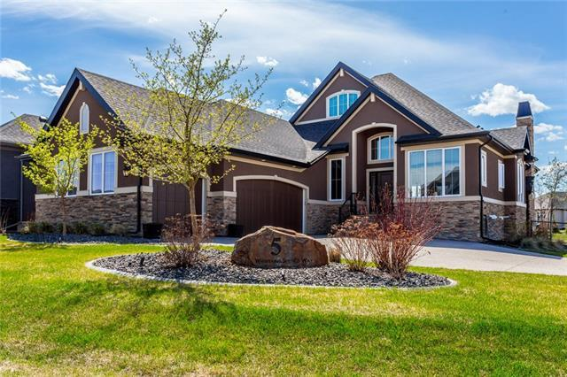 5 Whispering Springs Way, Heritage Pointe, AB T0L 0X0 (#C4185551) :: The Cliff Stevenson Group