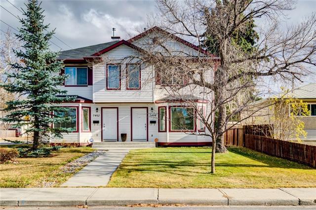7404 24 Street SE, Calgary, AB T2C 0Y6 (#C4185802) :: Your Calgary Real Estate