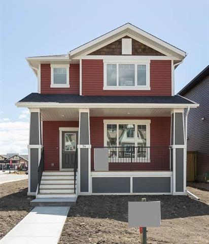 54 Fireside Circle, Cochrane, AB T4C 0Z4 (#C4185824) :: Redline Real Estate Group Inc