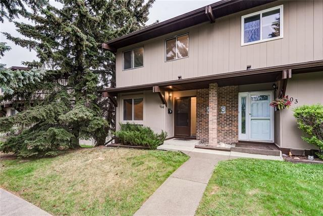 1055 72 Avenue NW #104, Calgary, AB T2K 5S4 (#C4185886) :: Redline Real Estate Group Inc