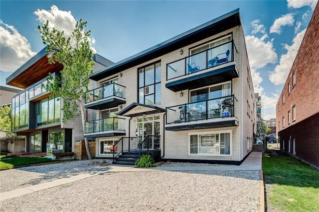 1715 13 Street SW #3, Calgary, AB T2T 3P5 (#C4186041) :: Canmore & Banff