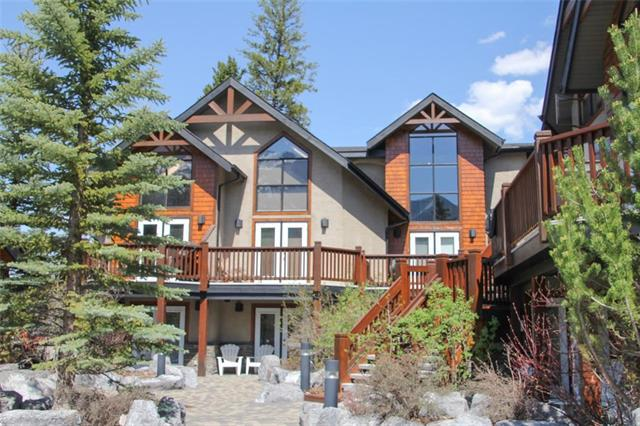 834 4th Street #101, Canmore, AB T1W 2H6 (#C4186055) :: Canmore & Banff
