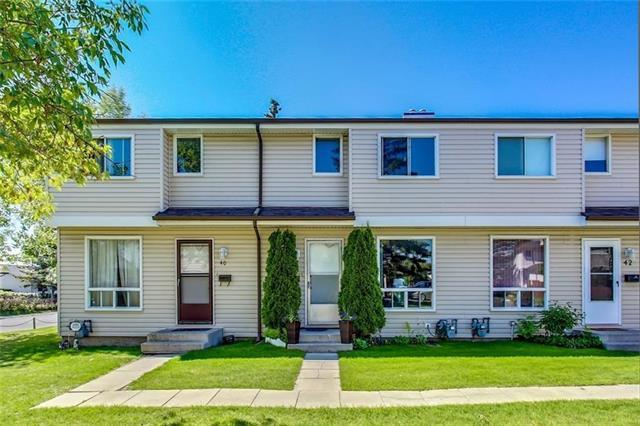 1155 Falconridge Drive NE #40, Calgary, AB T1Y 5H1 (#C4186099) :: Canmore & Banff