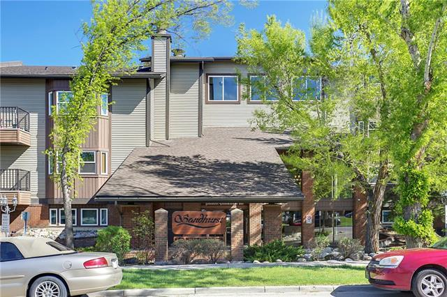 550 Westwood Drive SW #107, Calgary, AB T3C 3T9 (#C4186284) :: Calgary Homefinders
