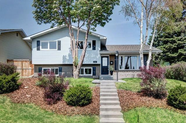 7412 Hunterburn Hill(S) NW, Calgary, AB T2K 4S5 (#C4186428) :: Your Calgary Real Estate