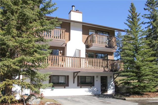 1061 Evergreen Circle #16, Canmore, AB T1W 2R2 (#C4186521) :: Calgary Homefinders