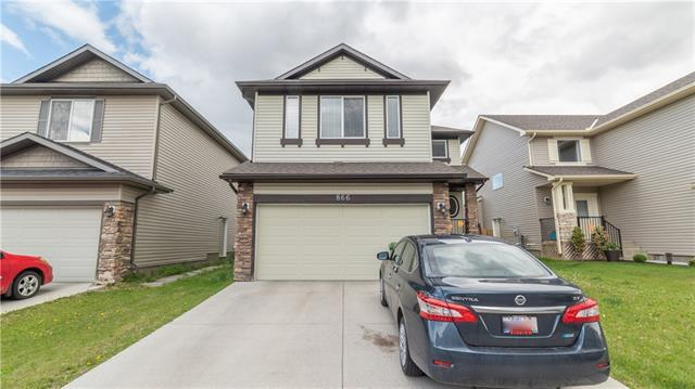 866 Canoe Green SW, Airdrie, AB T4B 3K6 (#C4186579) :: The Cliff Stevenson Group