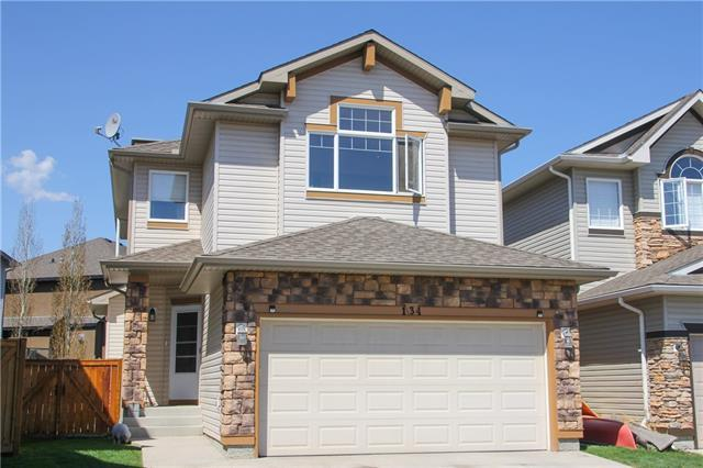 134 West Pointe Court, Cochrane, AB T4C 0B9 (#C4186927) :: The Cliff Stevenson Group
