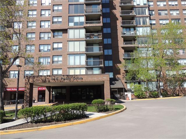 145 Point Drive NW #401, Calgary, AB T3B 4W1 (#C4187242) :: The Cliff Stevenson Group