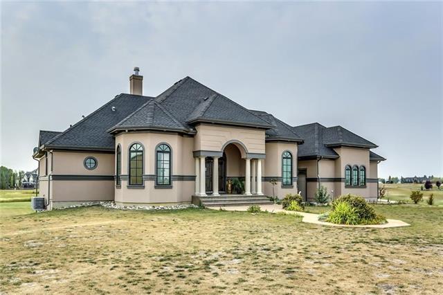 14 Sunset Ridge Drive, Rural Foothills M.D., AB T1S 5B7 (#C4187296) :: Tonkinson Real Estate Team