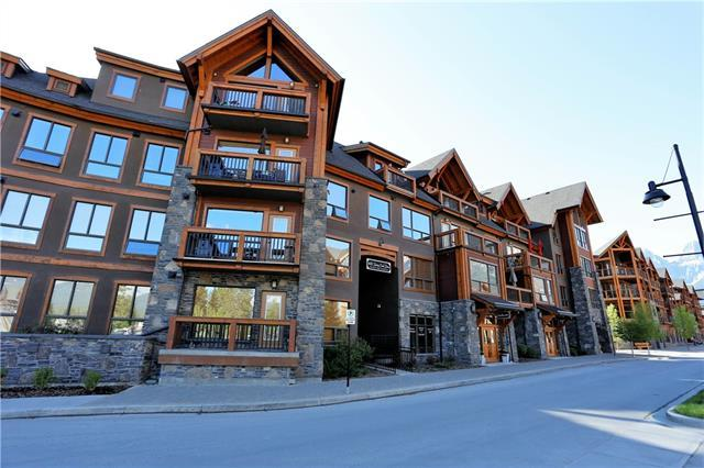 600 Spring Creek Drive #205, Canmore, AB T1W 0C8 (#C4187606) :: Your Calgary Real Estate